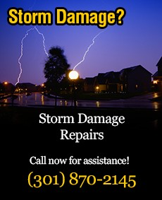 roof hail damage repairs