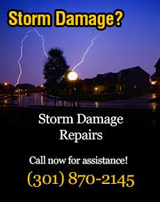 roof hail damage repairs