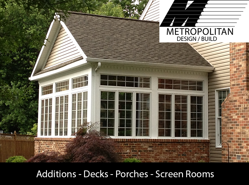 Additions Decks Porches Screened Rooms