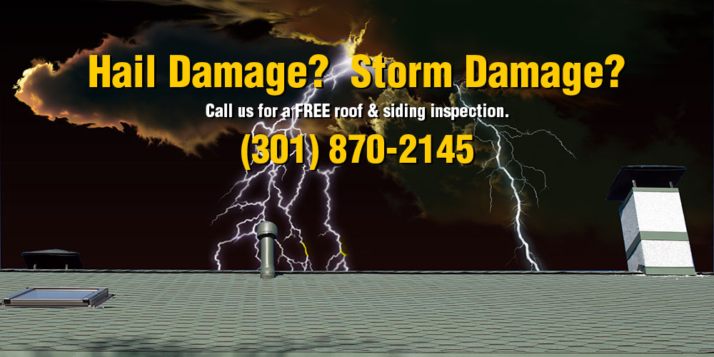 Hail Storm Roof Siding Contractor