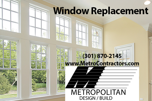 Window Replacements in Maryland, DC, and VA