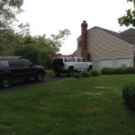 Adjuster Meeting for Roof Replacement